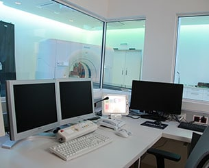 MedAustron CT room