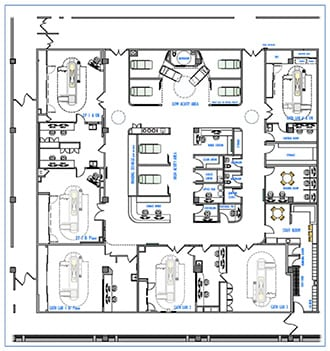 Floorplan interventional suite