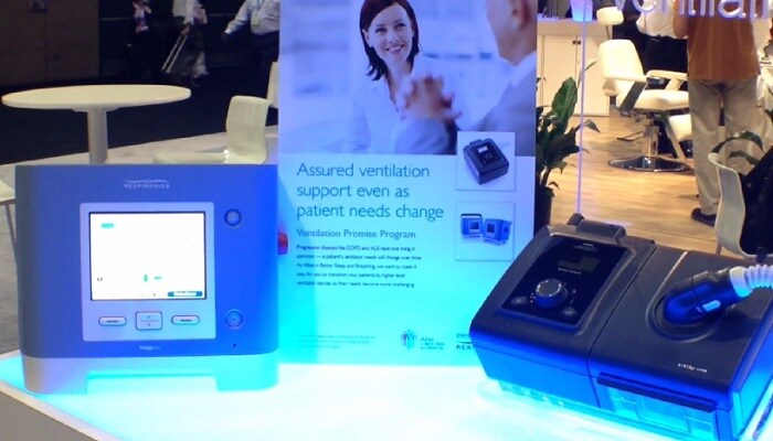 ventilation promise program from Philips Respironics